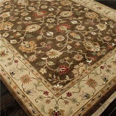 Handknot Antique Reproduction Traditional Wool Rug
