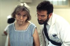 Awakenings (1990) — Dr. Malcolm Sayer | 29 Great Performances By Robin Williams...Although Robert De Niro earned the Best Actor Oscar nomination for Awakenings — and deservedly so — Williams' powerful performance as the dedicated, compassionate Dr. Malcolm Sawyer is equally essential the film's success. The bond he shares with his patient is the core of the movie, and makes the film all the more devastating. —L.P.