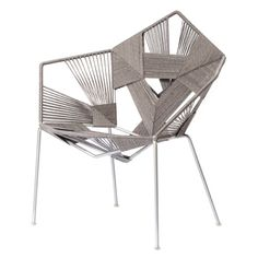 COD woven chairs by Rami Tareef have gone into production with Gaga & Design.