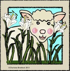 Free Sheep - Lamb Clip Art at Charlotte's Clips and Kindergarten Kids