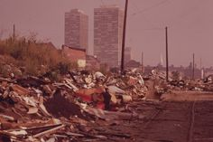 vintage Philly from the 70s: View North From Swanson And Catherine Streets
