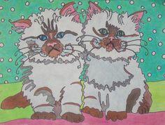 my own colored pencil art....Lynda McGovern