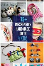 DIY Gifts For Kids INEXPENSIVE Handmade Gifts for Kids - so many great tutorials for great gift ideas! { INEXPENSIVE Handmade Gifts for Kids - so many great tutorials for great gift ideas! Diy Gifts For Kids, Craft Gifts, Diy For Kids, Crafts For Kids, Kids Fun, Kids Presents, Kids Boys, Sewing Crafts, Sewing Projects