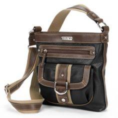 Chaps Colorblock Crossbody Bag