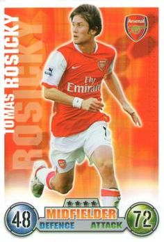 2007-08 Topps Premier League Match Attax #11 Tomas Rosicky Front