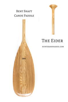 The Eider - Bent Shaft Canoe Paddle Canoe Paddles, Accessories, Jewelry Accessories