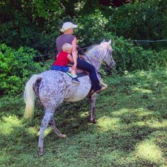 Went on a trail ride with Ann and her grandson, mom and Craig today! :) Love!