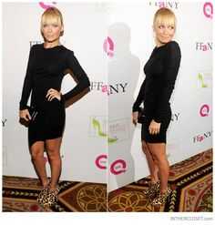 Nicole Richie in Helmut Lang & House of Harlow 1960