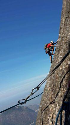 Climbing Rio de Janeiro
