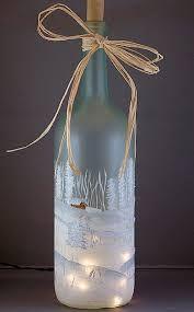 Image result for christmas wine bottle crafts