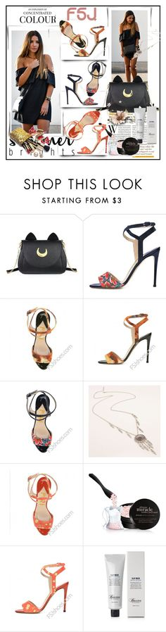"""fsjshoes"" by lip-balm ❤ liked on Polyvore featuring Usagi, Guerlain, Gucci, philosophy, Baxter of California, fsjshoes and fsj"