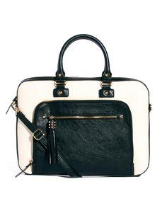 ALDO | ALDO Parkers Tassel Trim Structured Work Bag at ASOS
