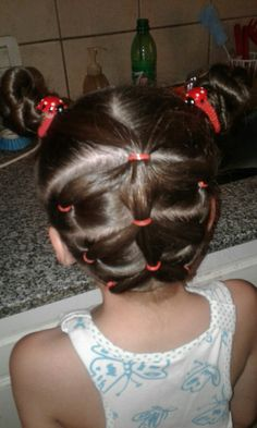 Childrens Hairstyles, Baby Girl Hairstyles, Cool Hairstyles, Wand Curls, Curl Wand, Gymnastics Hair, New Hair Do, Hair Removal Remedies, Toddler Hair