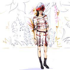 Alena-Lavdovskaya-Chanel-Haute-Couture-Spring-2015-1