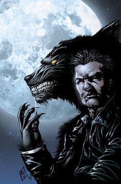 Dueño Del Hombre Lobo man Oh man wolf Werewolf Hunter, Werewolf Art, Apocalypse, Mythological Creatures, Mythical Creatures, Dark Fantasy, Fantasy Art, The Wolf Among Us, Vampires And Werewolves
