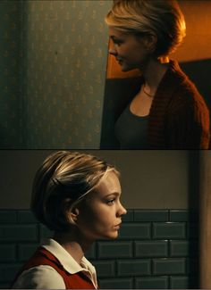 'Drive' - A strange mix of car-chasing action and delightful cinematography, casting orange against blue like a splattering of orangeade throughout the film... #cinematography #drive  #mulligan