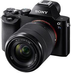 Sony Alpha 7S: Vollformat-DSLM mit 4k-Video und 12 MP