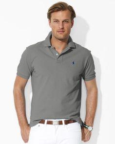 Classic-Fit Mesh Polo - Polo Ralph Lauren Big & Tall  - RalphLauren.com