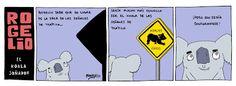 Betún de Judea - Webcómic o algo así: Rogelio, El Koala Soñador III