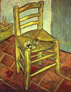 Vincent's Chair with His Pipe 1888