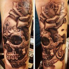 skull rose mexiko