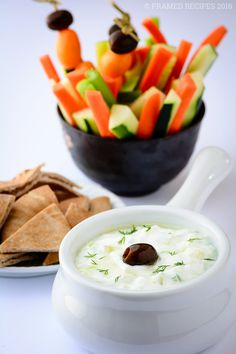 Tzatziki sauce - a creamy dip, sauce or condiment that is low-fat, heart-healthy and gluten free.