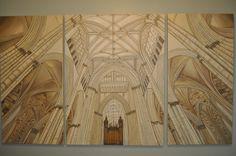 York Minster oil painting by Lara Hannam