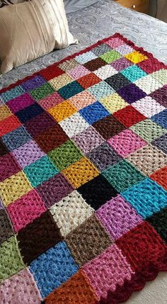 Love scrap use maybe that happens to all old knitters and crocheters lol jh crochet fox crochet gifts love crochet crochet granny crochet squares crochet lace crochet motif crochet stitches crochet patterns – Artofit Crochet Quilt, Crochet Blocks, Crochet Fox, Crochet Squares, Crochet Granny, Crochet Blanket Patterns, Crochet Motif, Crochet Crafts, Crochet Yarn
