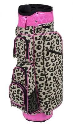 Stand out on the golf course with the pretty patterns of this Margarita Cutler Ladies Golf Cart Bag! Your personality will shine through with a golf bag from #lorisgolfshoppe!