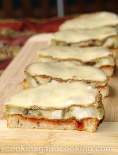 Eggplant and Cheese Melt Recipe
