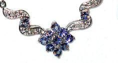 Look what I found on @eBay! http://r.ebay.com/JG2fSZ ctw Genuine Tanzanite and Diamond Necklace