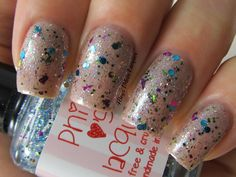 Glitter Tits by @Philly Loves Lacquer