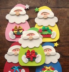 1 million+ Stunning Free Images to Use Anywhere Felt Christmas Ornaments, Noel Christmas, Handmade Christmas, Christmas Cards, Christmas Decorations, Christmas Crafts Sewing, Christmas Projects, Holiday Crafts, Natal Diy