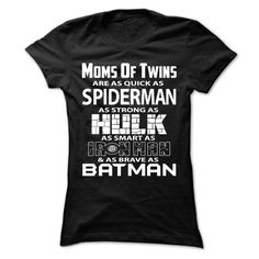 Cool T-shirts  Mom Of Twins Hero - (3Tshirts)  Design Description: Mom Of Twins  If you don't completely love this design, you'll SEARCH your favourite one via using search bar on the header.... -  #camera #grandma #grandpa #lifestyle #military #states - http://tshirttshirttshirts.com/lifestyle/best-discount-mom-of-twins-hero-3tshirts.html
