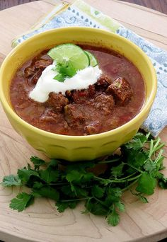 Slow Cooker Steak Lovers Chili | Ruled Me: