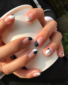 Shared by AtaDeniz✅. Find images and videos about nails and minimalist nail art on We Heart It - the app to get lost in what you love.