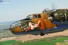B-25  'Dressed to Thrill'