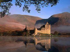 Castillo de Kilchurnes, Escocia