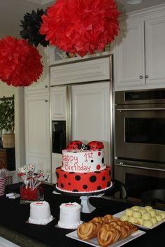 "Photo 1 of 10: Ladybugs / Birthday ""B & H's 1st Birthday"" 