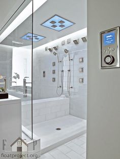 hi-tech shower enclosures