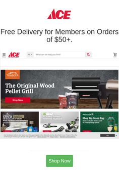 Best deals and coupons for Ace Hardware Ace Shop, Battery Shop, Wood Pellet Grills, Ace Hardware, Smart Home, Consumer Electronics, Coupons, Health Care, Home Improvement
