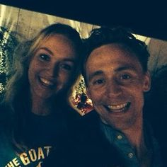 Tom Hiddleston with fans #Loki
