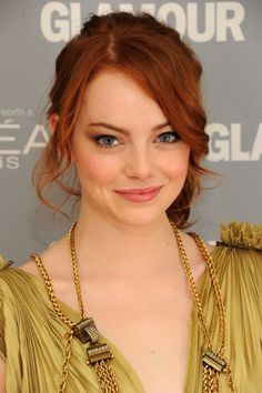 Emma Stone. So close to how I've pictured the lead female character, Vivvi!