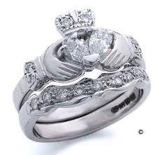 Claddagh Diamond ring. I love this...