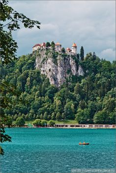 Blejski Grad, Bled Castle on Lake Bled, Slovenia