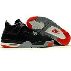 3ee5166f3ca Nike.Air.Jordan.4.Retro.(black. .red