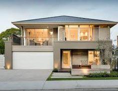 Resultado de imagem para double story home design