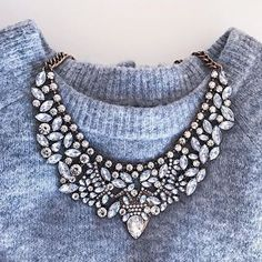 Vintage Glamour Statement Necklace #fashion #style #fashionista - 24,90 € @happinessboutique.com