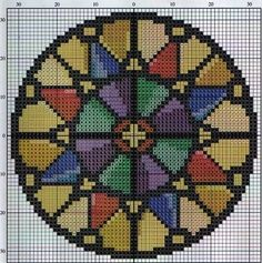 Mandala perler bead pattern I love this. I'm thinking of a brighter color pallet as a gift for M. Cross Stitch Borders, Cross Stitch Charts, Counted Cross Stitch Patterns, Cross Stitch Designs, Cross Stitching, Cross Stitch Embroidery, Pony Bead Patterns, Perler Patterns, Beading Patterns