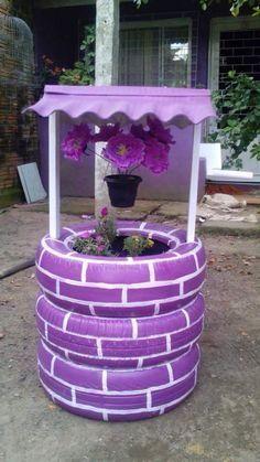 Gumiabroncs ötletek | Forrás: pinterest.com